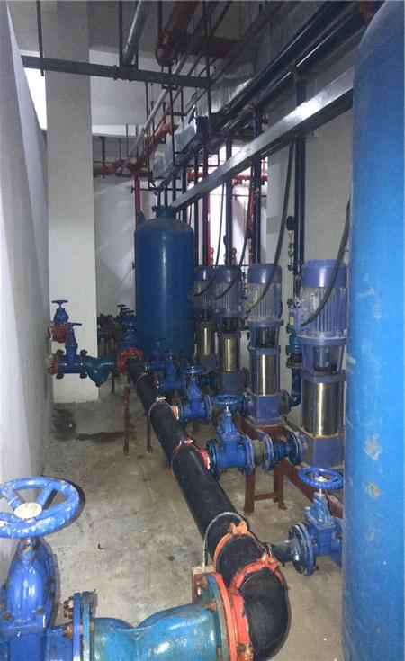 惠州陈江某小区供水设备
